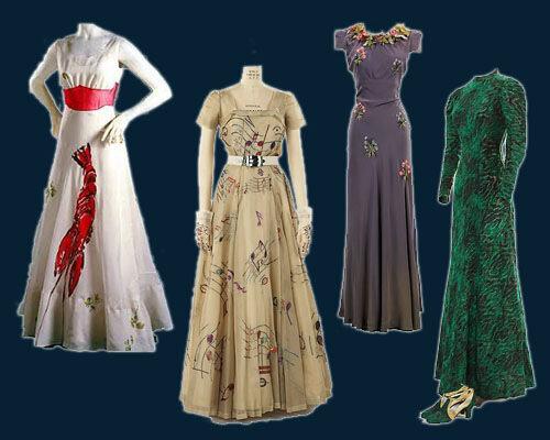 Платья от Скиапарелли