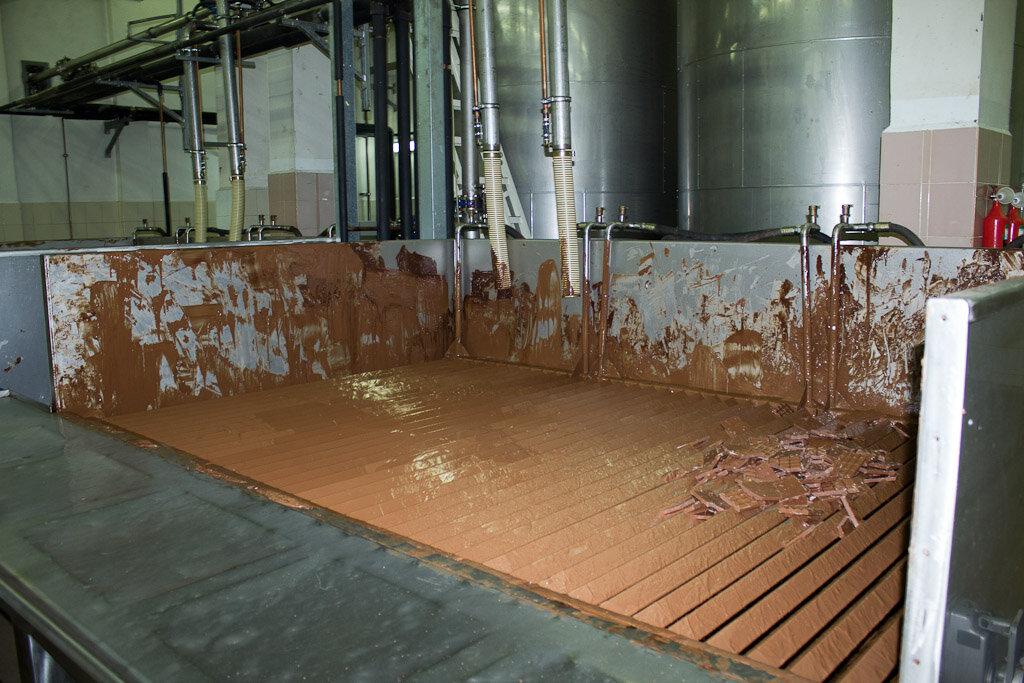 Как делают шоколад