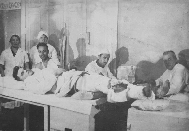 В госпитале.  Архивное фото из Интернета.