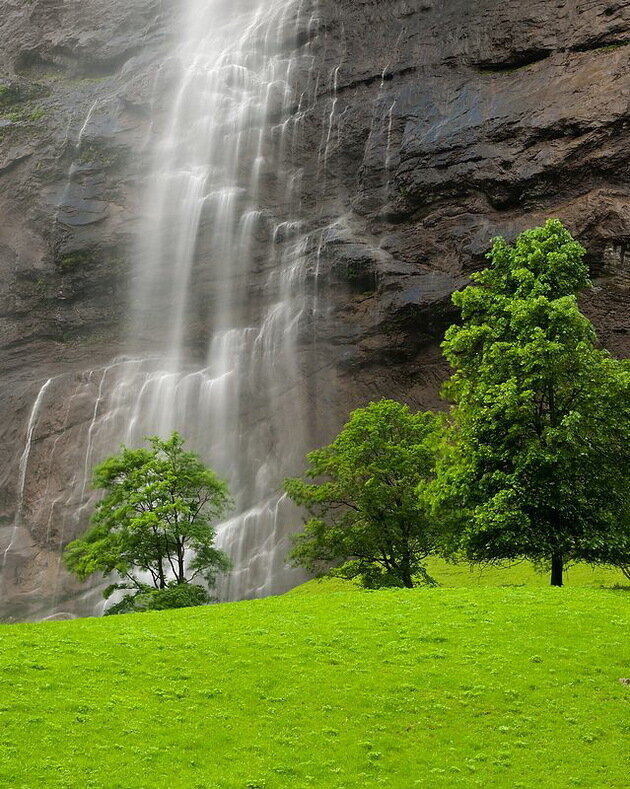 Водопад Штауббах. Швейцария