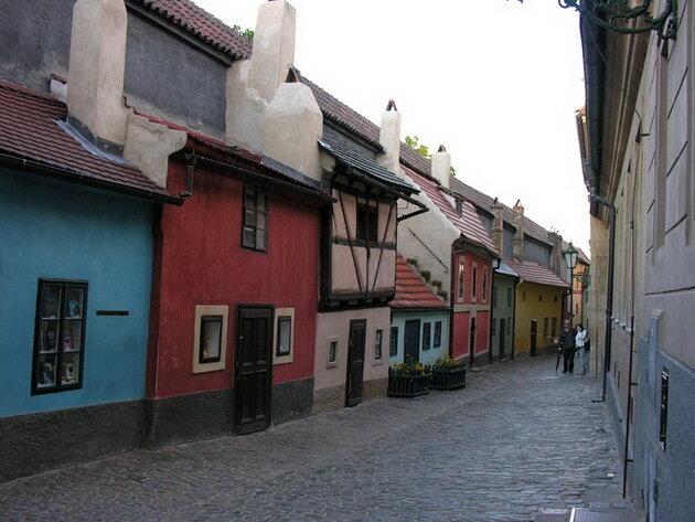 Золотая улочка. Прага, Чехия