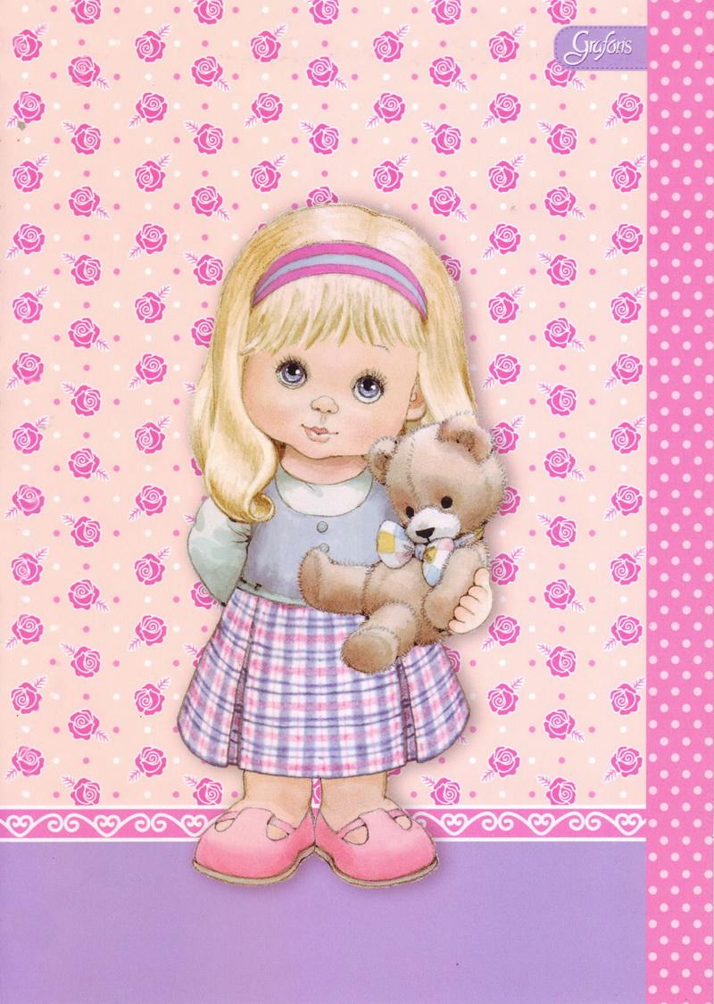 Открытки детские куклы