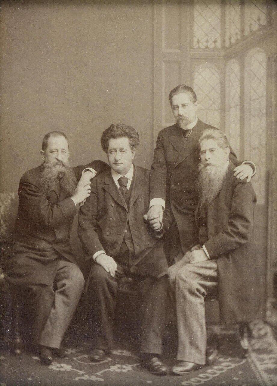 Портрет сыновей архитектора Андрея Ивановича Штакеншнейдера. 1897