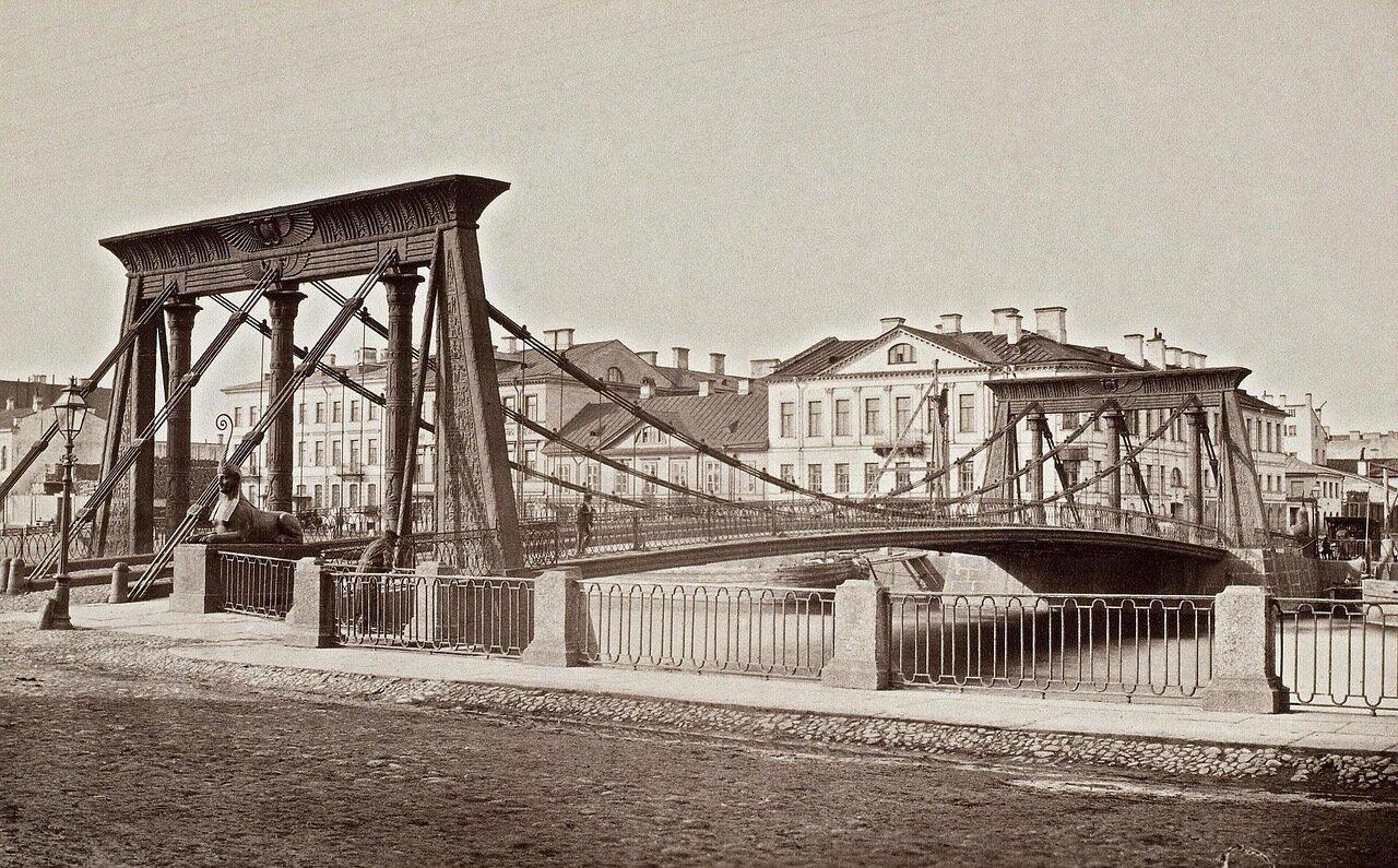Египетский мост через Фонтанку