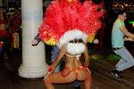 Группа Маракату, танцовщица, новый год 2012