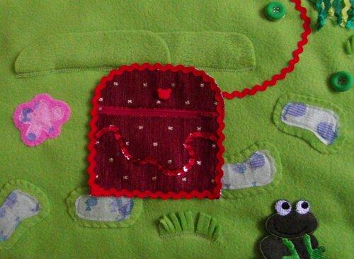 Детский развивающий коврик Моулвиль... сундук с сокровищами
