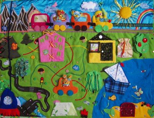 Развивающий коврик для детей... Моулвиль!