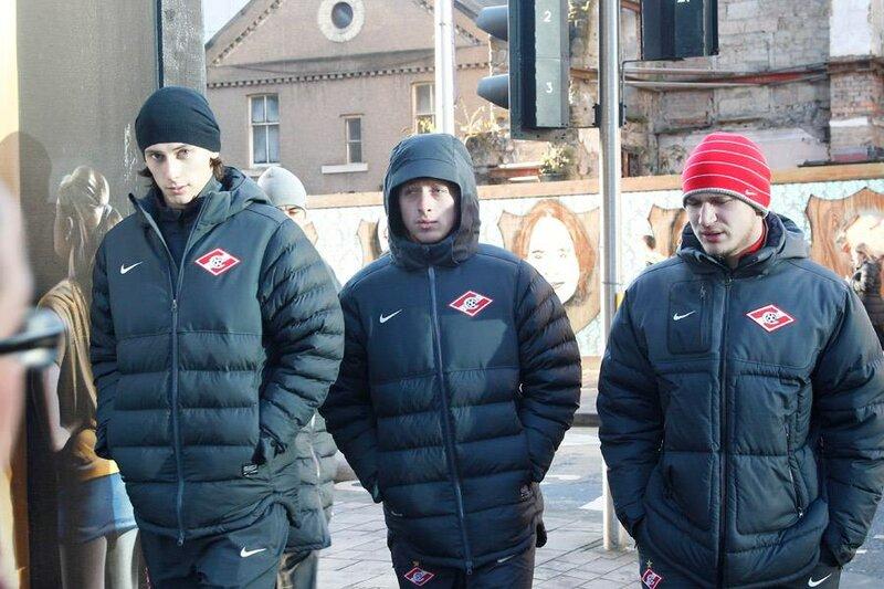 Прогулка «Спартака» по Глазго (Фото)