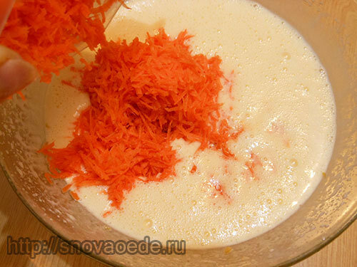 Рецепт морковного торта