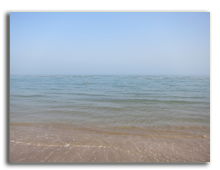 ОАЭ. Рас аль Хайма. Пляж отеля The Cove Rotana Resort Ras Al Khaimah