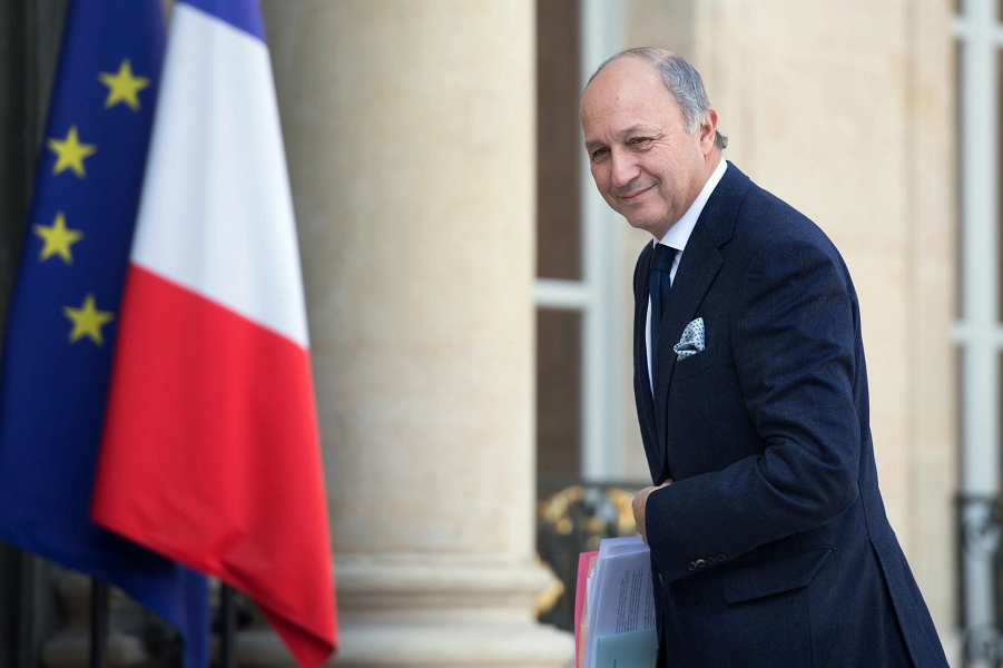 Министр иностранных дел Франции Лоран Фабиус.png