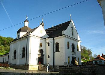 Святоонуфриевский монастырь, где 5 декабря 1583 года был похоронен Иван Фёдоров.