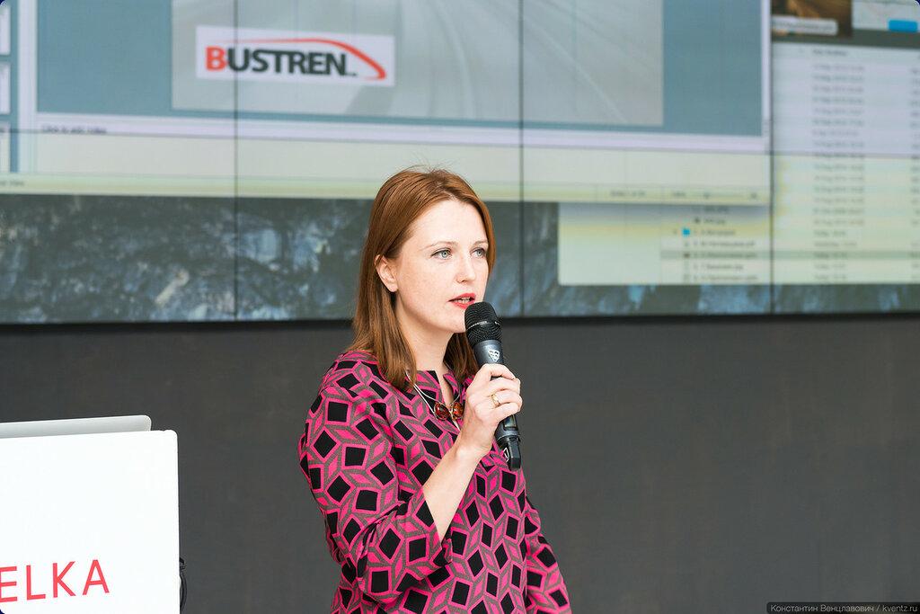 Анастасия Мингалиева, исполнительный директор российского филиала компании BusTren