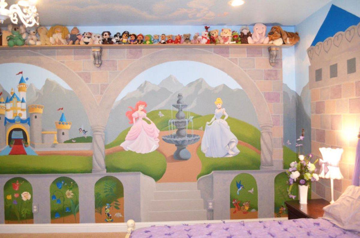 Интерьер детских комнат в стиле Диснея