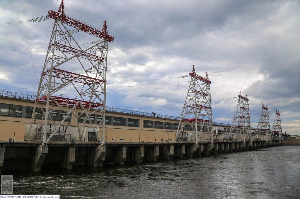 Чебоксарская гидроэлектростанция фото информации