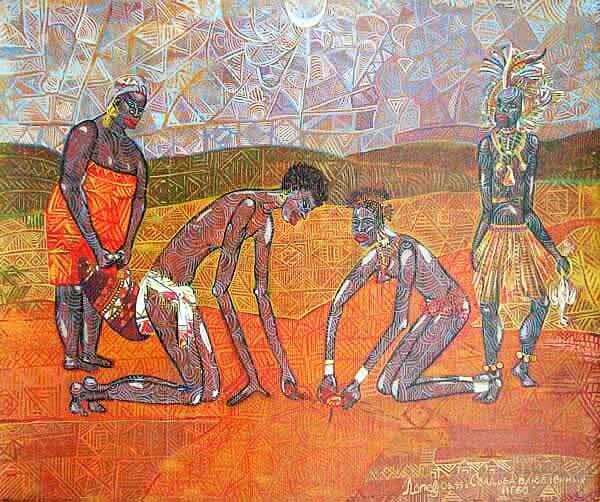 Занимательная Африка глазами художницы Лолы Лонли.