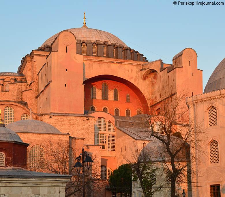 Бог попустил чтобы за преступления Варфоломея Эрдоган превратил Святую Софию в мечеть
