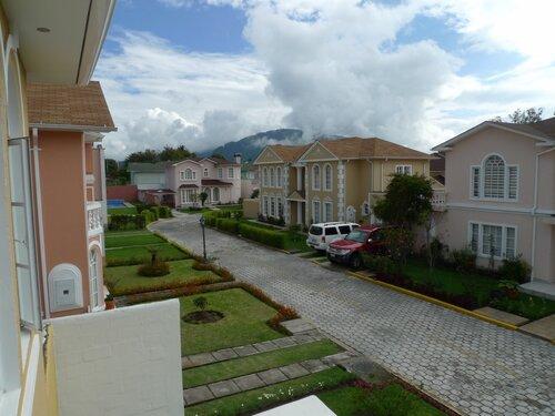 балкон на фасаде