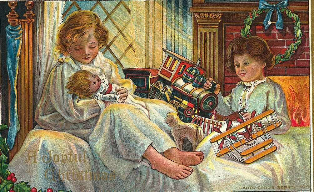 Флэш, открытки дети и игрушки