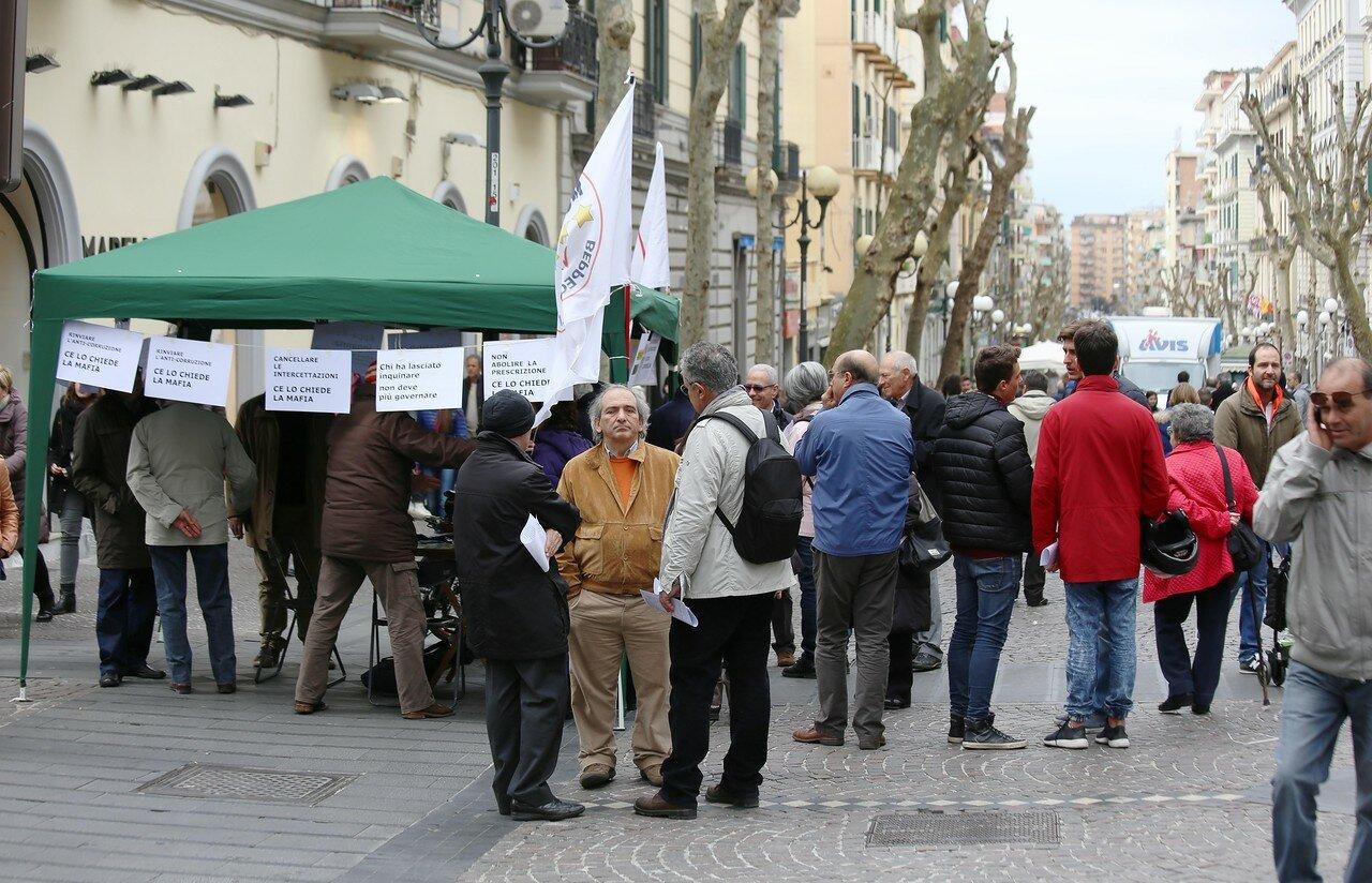 Naples. Saturday afternoon in Vomero