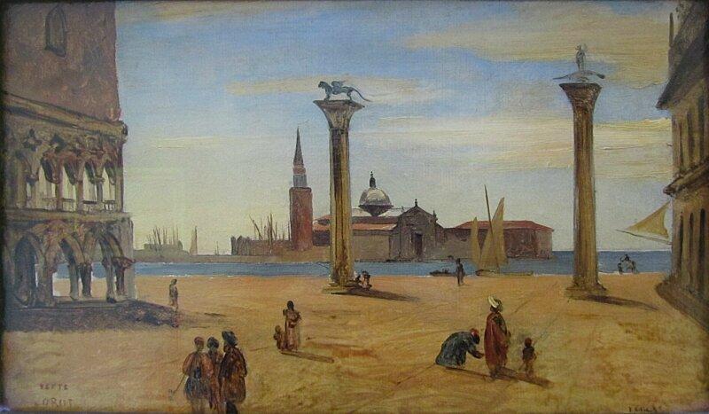 К.Коро. Венеция. Пьяцетта