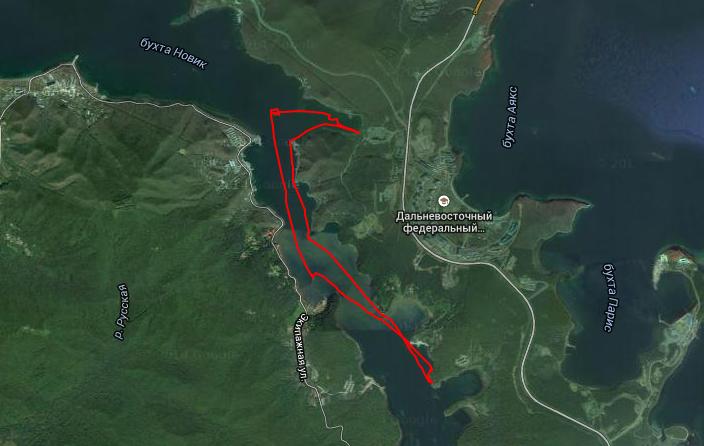 Папенберг - Фальшивый - ДР - Kayaking   Canoeing trip   EveryTrail.png