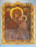 Чудотворная фреска Тихвинской иконы Божией матери