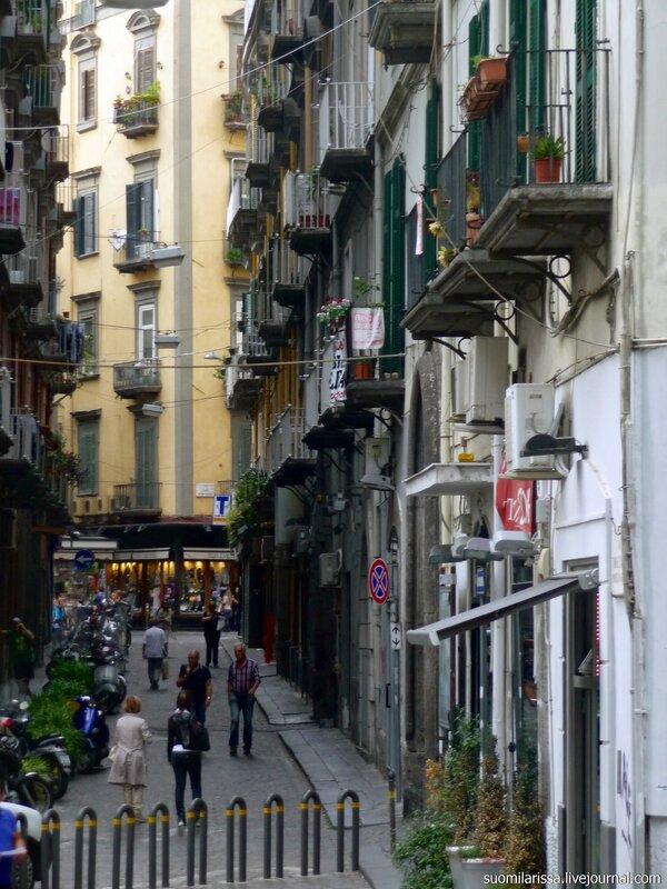 Исторический центр Неаполя, объекта ЮНЕСКО.