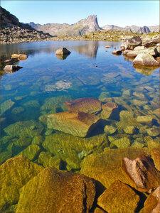 Ергаки. Озеро Девичьи слёзы