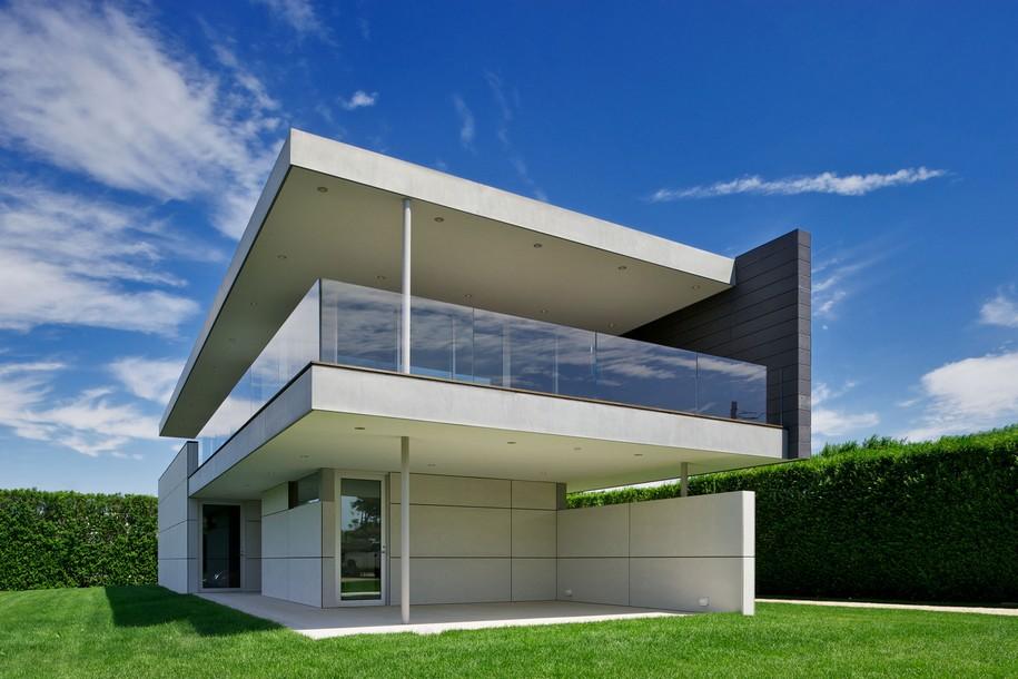 Ocean Guest House от Stelle Architects в Бриджхэмптоне, США