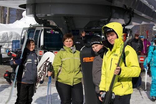 Роза Хутор — закрытие сезона 2012