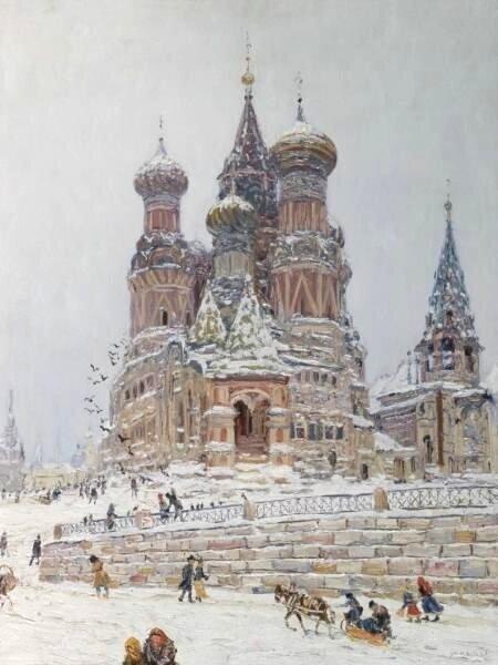 Николай Дубовской. 1916-1917.