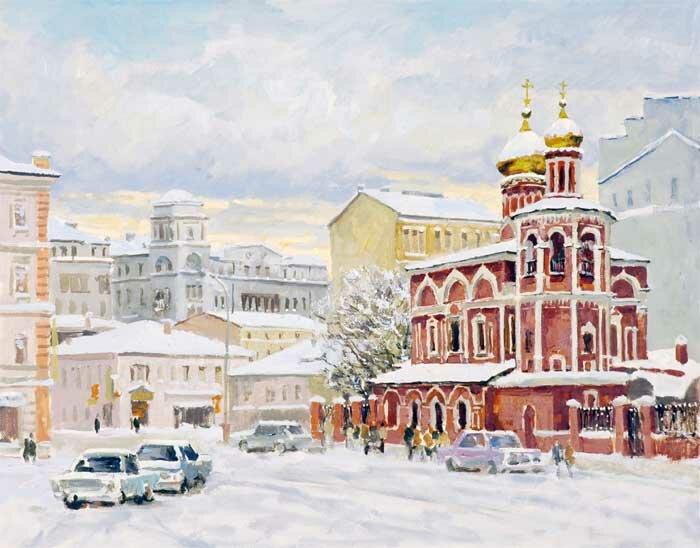 В. Изумрудов Московский пейзаж. 2004