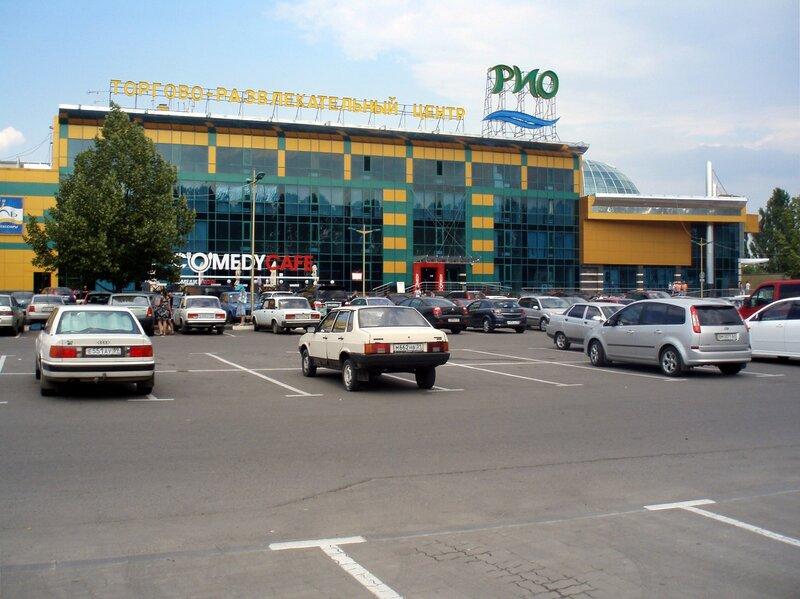 """ТРЦ  """"РИО """" располагается на главной магистрали Белгорода - улице Богдана Хмельницкого, в непосредственной близости от..."""