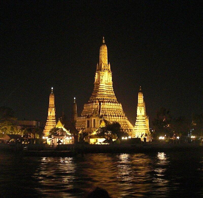 Храм Рассвета или Wat Arun