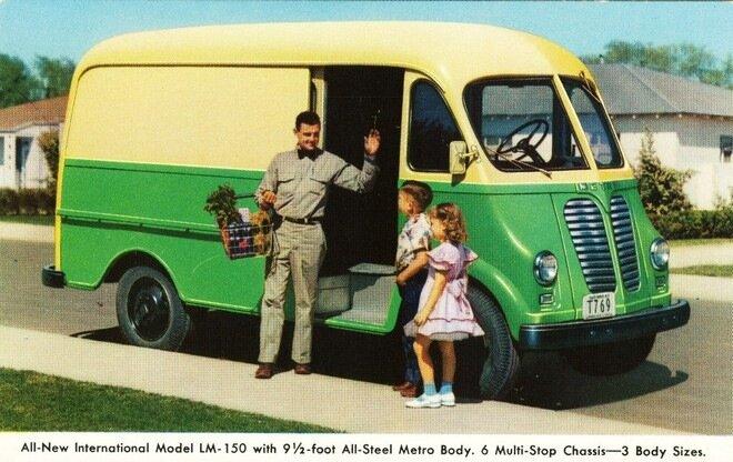 Автобусы доставки