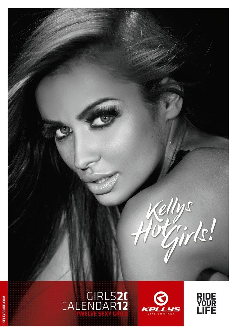 Обнаженные девушки в календаре производителя велосипедов Kellys на 2012 год - обложка