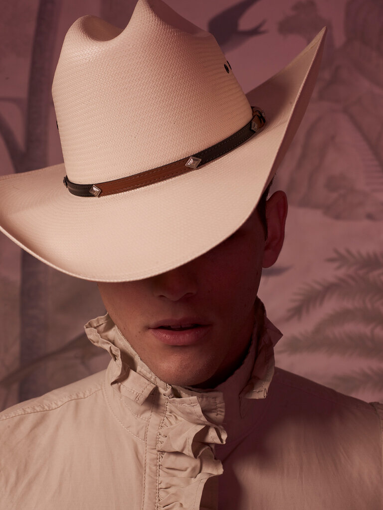 cowboys and indians fashion story for Paper Magazine
