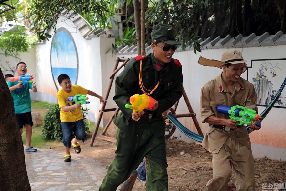 Крутые стрелялки: Китайский агротуризм с развлекательно-патриотическим уклоном (5)