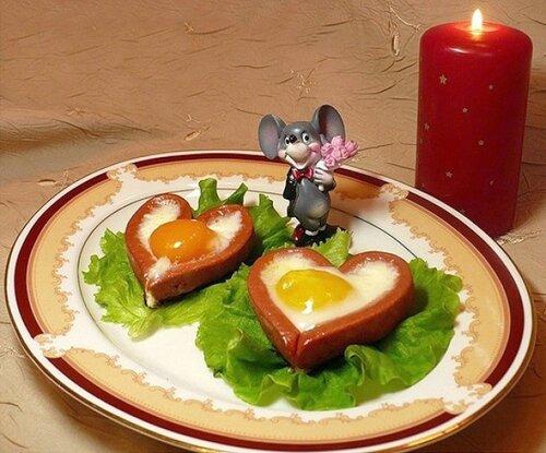 Влюблённая яичница.