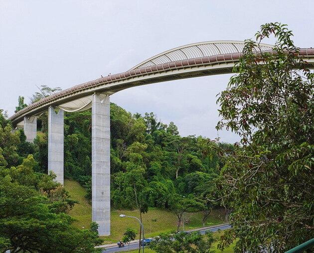 Мост «Волны Хендерсона» (Henderson Bridge). Сингапур