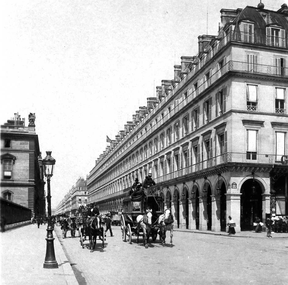 1904. Рю де Риволи