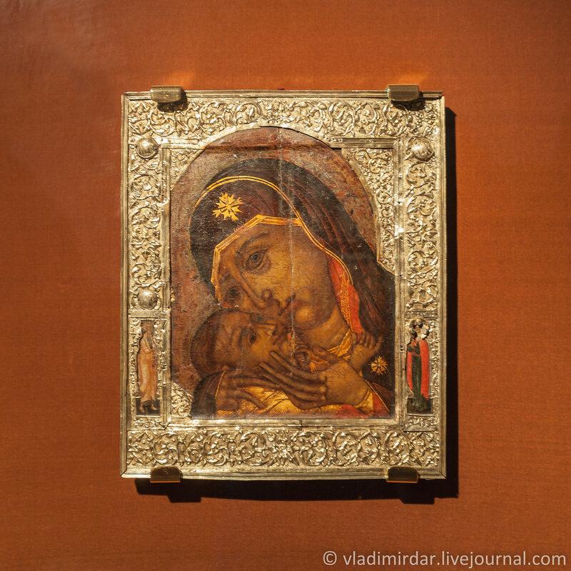 Икона Богоматерь Корсунская. XVII век. Ипатьевский монастырь. Кострома.