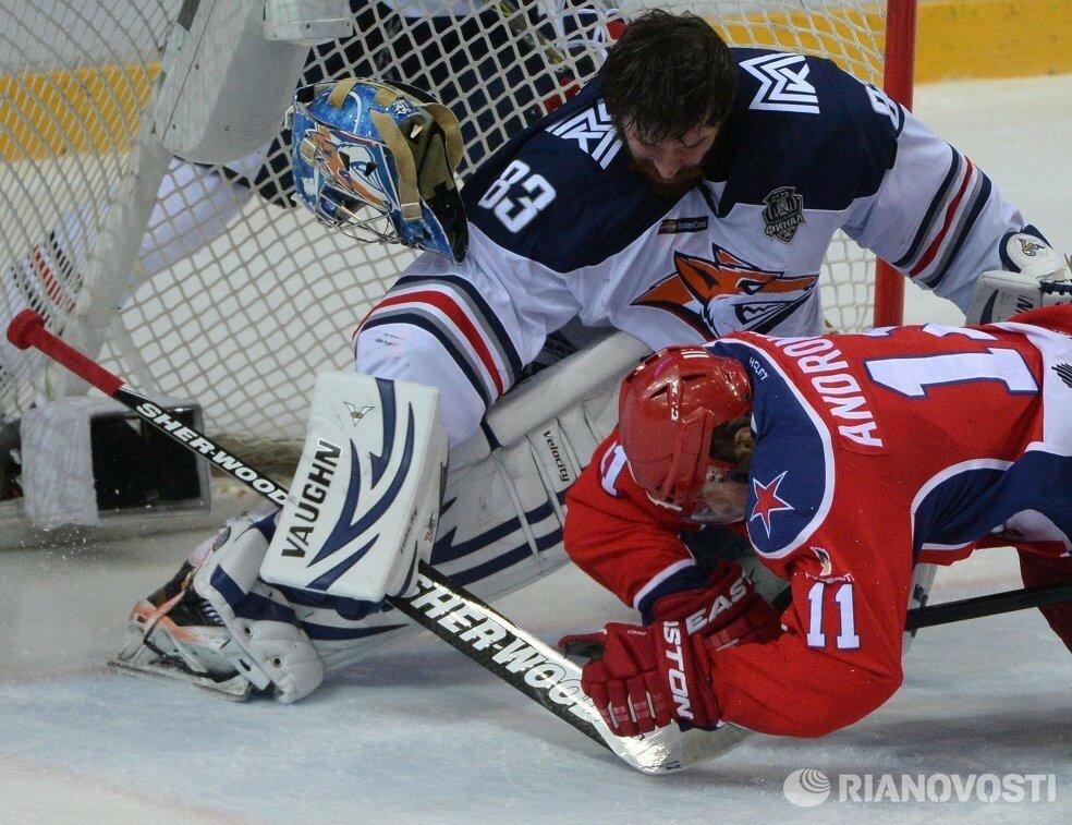 23Плей-офф 2016 Финал ЦСКА - Металлург 19.04.2016