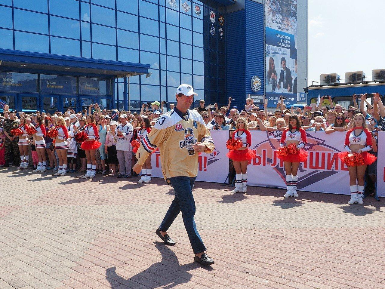 23Церемония чествования команды Металлург27.05.2016