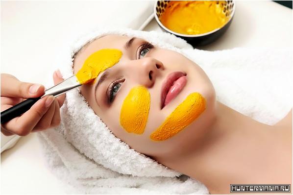 Маски для лица с куркумой для красоты и здоровья кожи