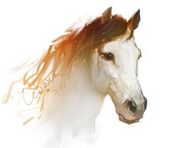 Артём Чебоха (RHADS). Horse Sketch