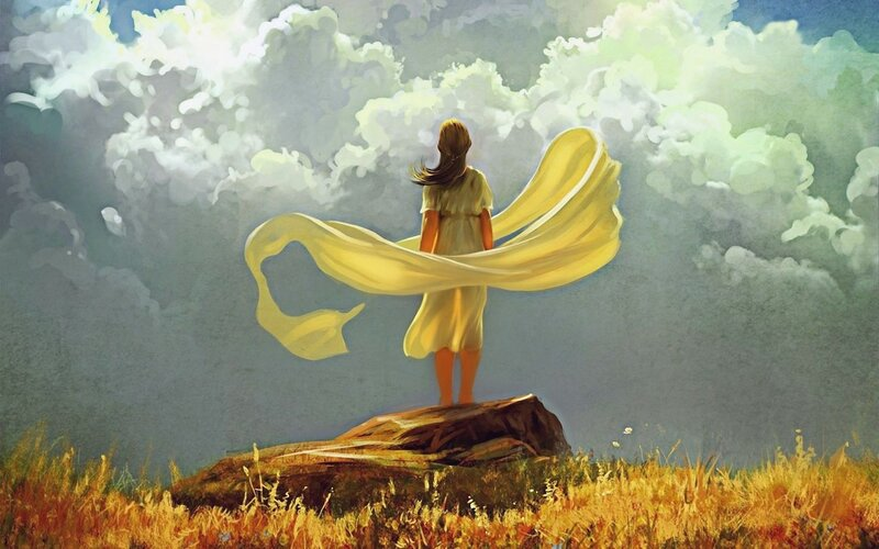 Чтобы летать в небе – надо иметь крылья.