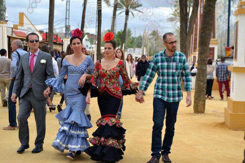 Про корриду, праздник, Херес и херес. Feria del Caballo. Jerez de la Frontera