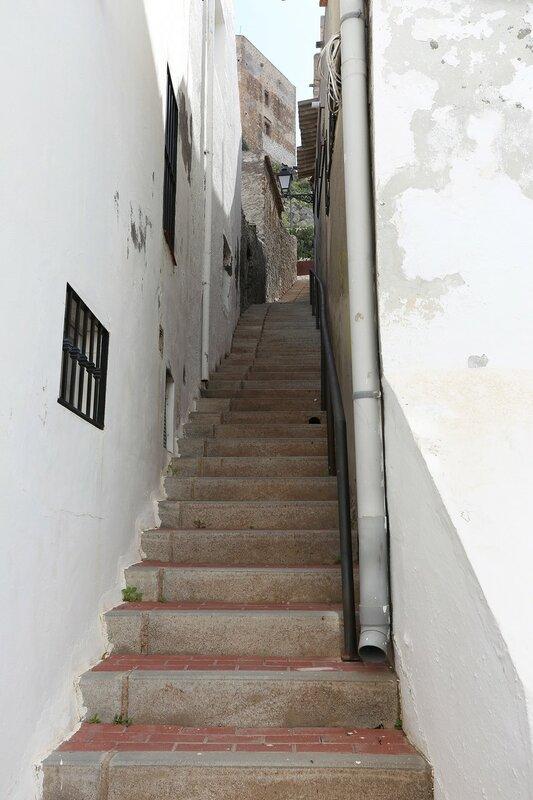 Велес-де-Бенаудалья. Лестница мёртвых (Escalerilla de los Muertos)